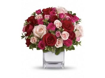 Vegyes rózsák