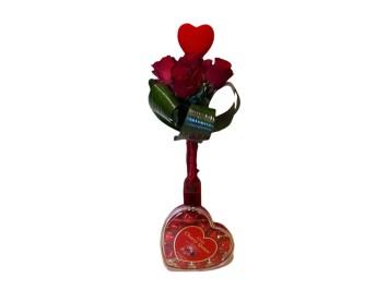 Vörös rózsa ,desszert